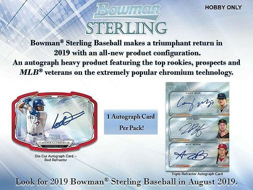 2019 Bowman Sterling 1 Box Break #3-PYT