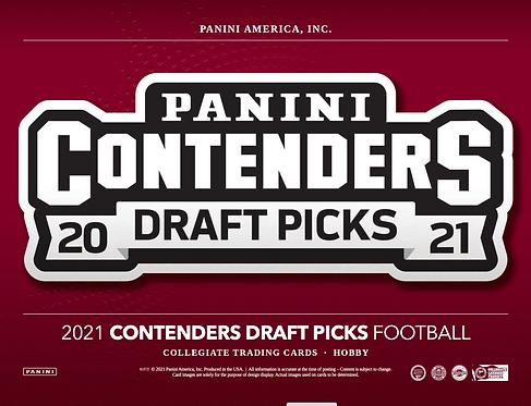 2021 Panini Contenders Draft Picks Football 1 Box Break #1-PYT