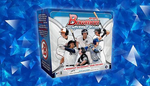 2020 Bowman Baseball Sapphire 1 Box Break #3-Random Pack