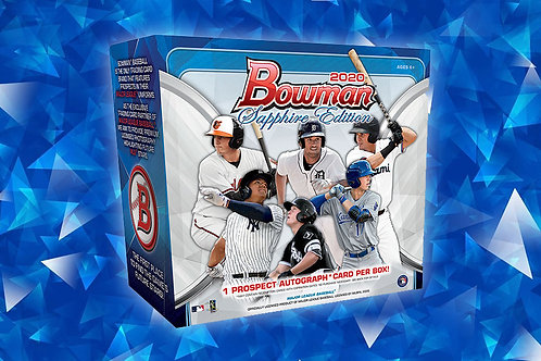 2020 Bowman Baseball Sapphire 1 Box Break #5-Random Pack