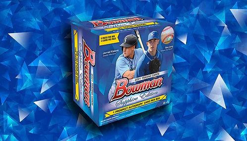 2021 Bowman Baseball Sapphire 1 Box Break #4-Random Divisions