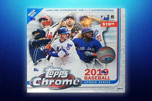 2019 Topps Chrome Update 10 Box Break #5-Random Division