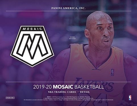 2019-20 Panini Mosaic Mega 1 Box Break #1-PYT