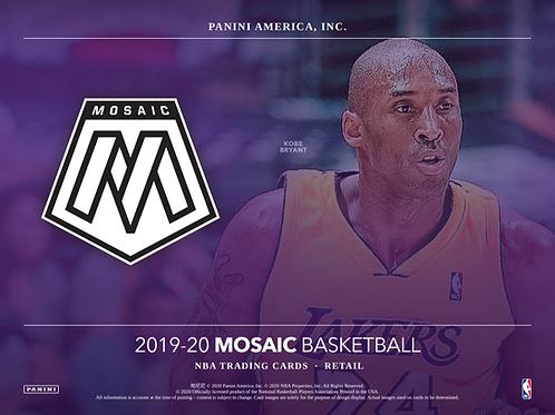 2019-20 Panini Mosaic Hanger Basketball 5 Box Break #1-PYT