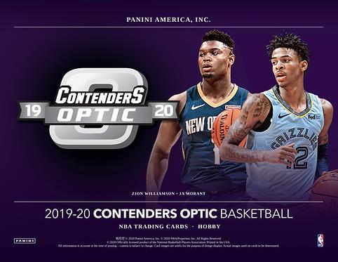 2019-20 Panini Contenders Optic Basketball 1 Box Break #2-PYT