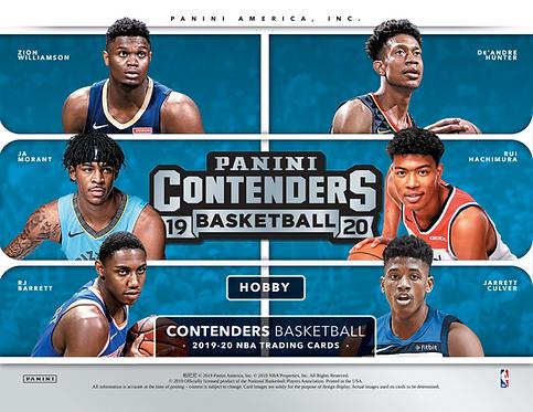 2019/20 Panini Contenders Basketball 2 Blaster Box Break #1-RT
