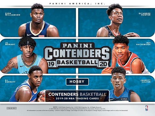 2019/20 Panini Contenders Basketball 2 Blaster Box Break #1-RT