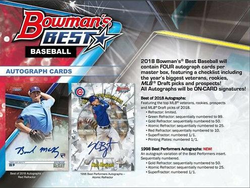 2018 Bowman's Best 1 Box Break #1-PYT