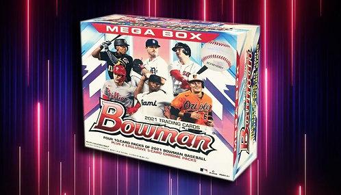 2021 Bowman Baseball Mega 5 Box Break #2-PYT