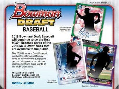 2018 Bowman Draft Jumbo 1 Pack Break #1-PYT