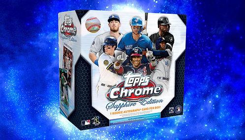 2020 Topps Chrome Sapphire 1 Box Break #4-PYT
