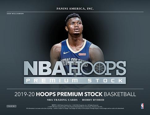2019-20 Panini Hoops Basketball Premium Stock Hybrid 1 Box Break #2-PYT