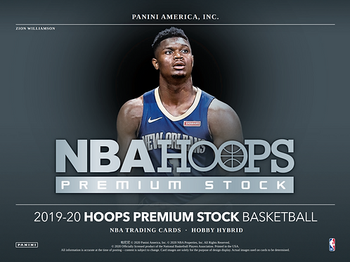 2019-20 Panini Hoops Basketball Premium Stock Hybrid 1 Box Break #2-PYT