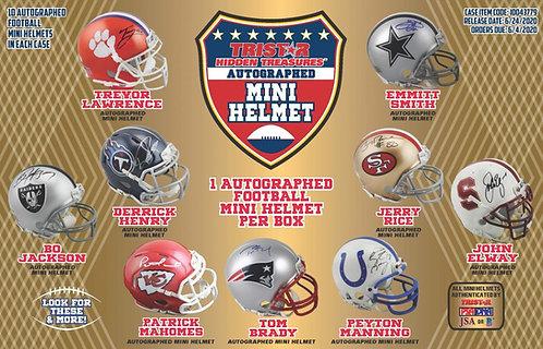 2020 Tristar H/T Football Mini Helmet 1 Box Break #2-PYT