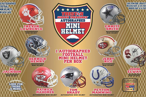 2020 Tristar H/T Football Mini Helmet 1 Box Break #2-PYT