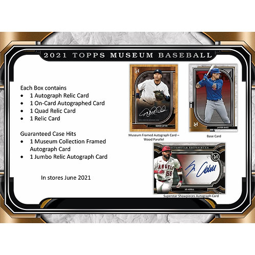 2021 Topps Museum Collection 1 Box Break #4-RT