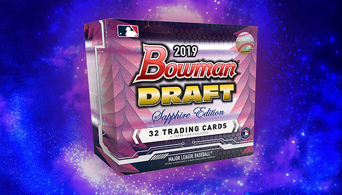 2019 Bowman Draft Sapphire 1 Box Break #1-PYT
