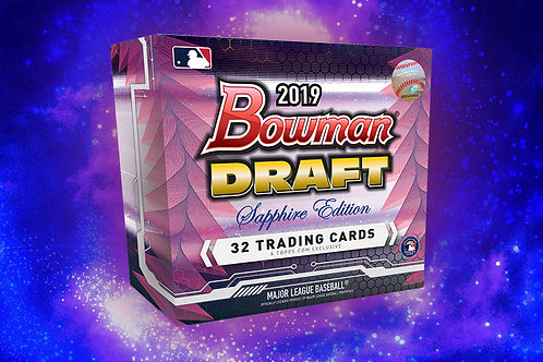 2019 Bowman Draft Sapphire 1 Box Break #5-PYT