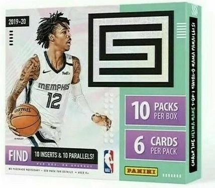 2019-20 Panini Status Tmall Edition Basketball 1 Box Break #1-PYT