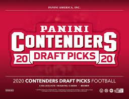 2020 Panini Contenders Draft Picks Football 1 Box Break #1-PYT