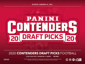 2020 Panini Contenders Draft Picks Football 1 Box Break #2-Random Divisions