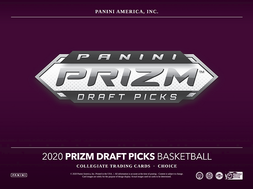2020-21 Panini Prizm Draft Choice Basketball 1 Box Break #1-PYT