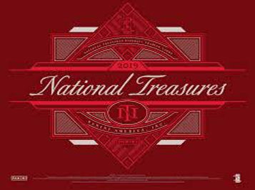 2019 Panini National Treasures Baseball 1 Box Break #1-PYT