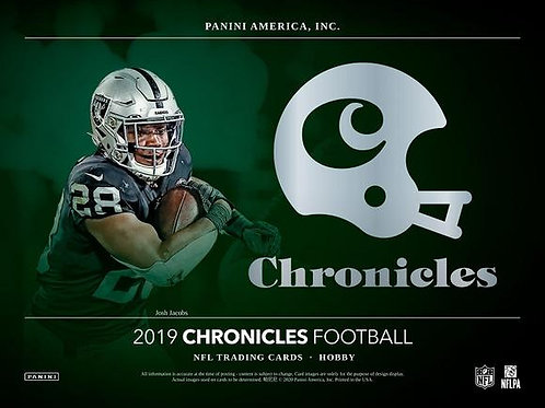 2019 Panini Chronicles Football 1 Box Break #1-PYT