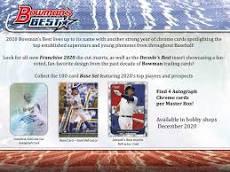 2020 Bowman's Best 2 Box Break #1-PYT