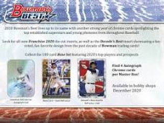 2020 Bowman's Best 2 Box Break #10-PYT