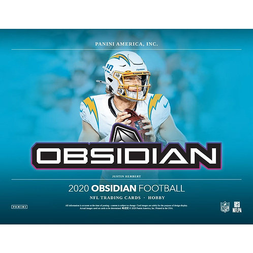 2020 Panini Obsidian Football 1 Box Break #9-PYT