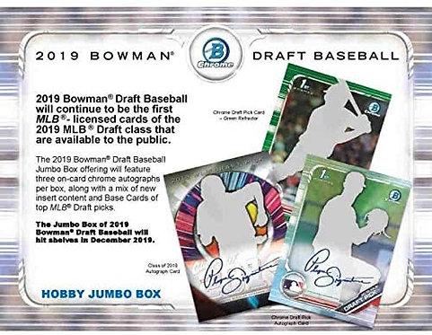2019 Bowman Draft Jumbo 1 Box Break #1-RT