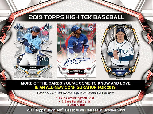 2019 Topps High Tek 1 Mini Box Break #1-RT