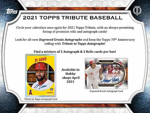 2021 Topps Tribute 1 Box Break #7-PYT