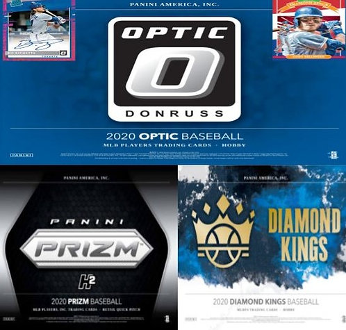 2020 Panini 3 Box Prizm Quick Pitch, Diamond Kings, Optic Mixer #1-PYT
