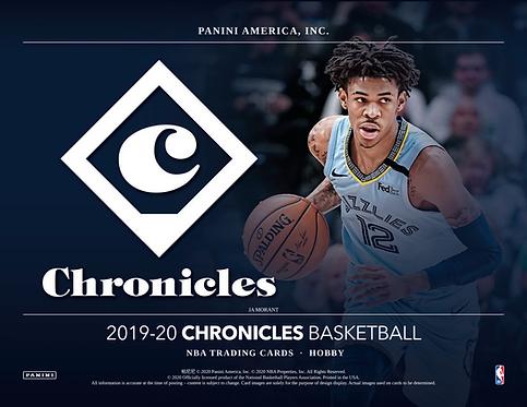 2019-20 Panini Chronicles Basketball Mega 1 Box Break #1-PYT