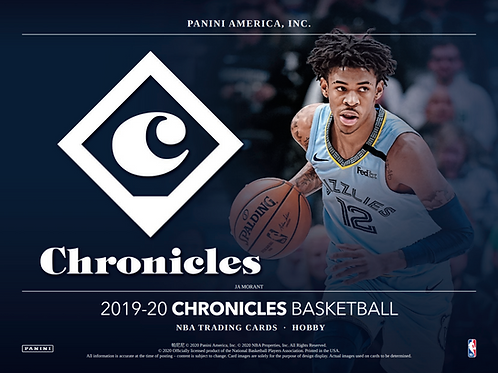 2019-20 Panini Chronicles Basketball Mega 1 Box Break #2-PYT
