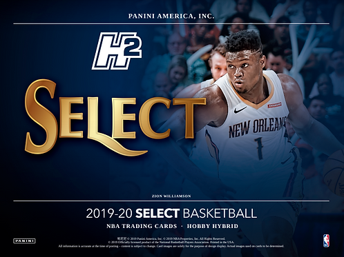 2019/20 Panini Select FOTL Basketball 1 Box Break #1-Random Players