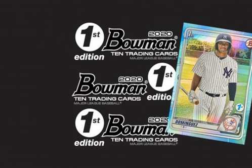 2020 Bowman 1st Edition 1 Box Break #2-PYT