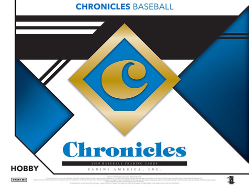 2019 Panini Chronicles Baseball 1 Box Break #1-Random Pack