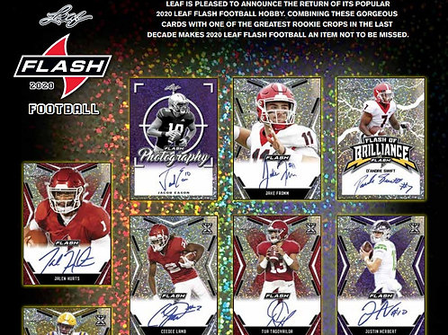2020 Leaf Flash Football 2 Box Break #2-PYT