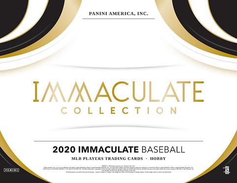 2020 Panini Immaculate Baseball 2 Box Break #2-PYT