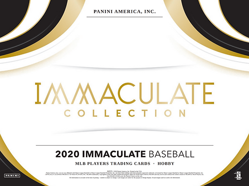 2020 Panini Immaculate Baseball 2 Box Break #2-PYT
