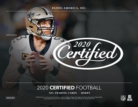 2020 Panini Certified Football 1 Box Break #1-PYT