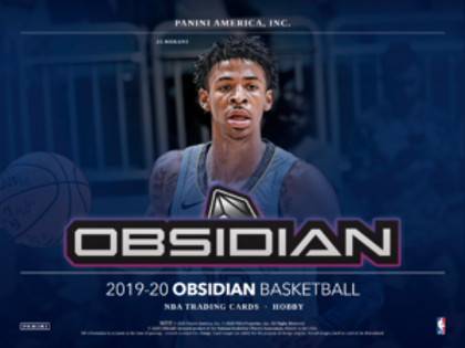 2019-20 Panini Obsidian Basketball 1 Box Break #1-PYT