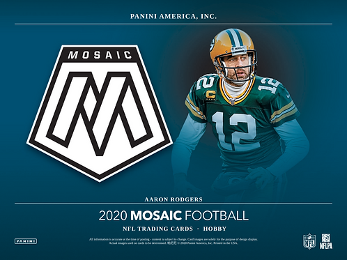 2020 Panini Mosaic Football Blaster 5 Box Break #1-PYT