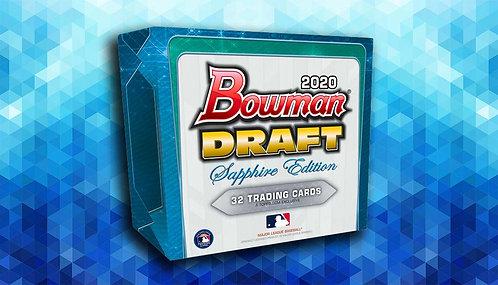 2020 Bowman Draft Sapphire 1 Box Break #7-PYT