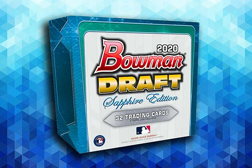 2020 Bowman Draft Sapphire 1 Box Break #22-PYT