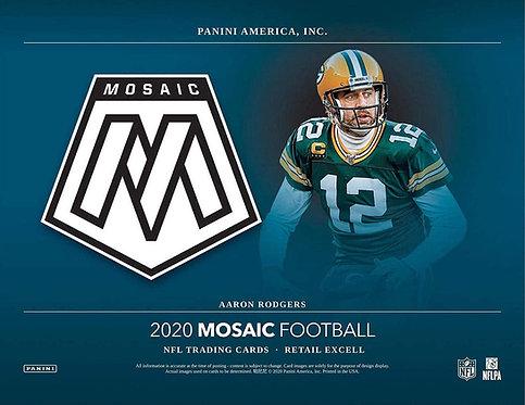 2020 Panini Mosaic Football Blaster 5 Box Break #1-PYT
