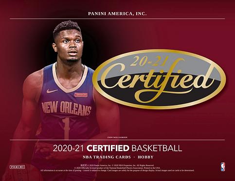 2020-21 Panini Certified Basketball 1 Box Break #1-PYT